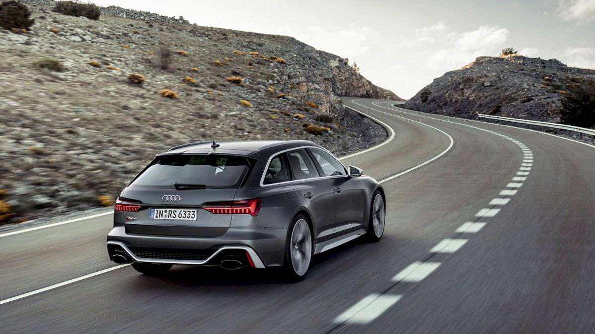 Audi RS 6 Avant 2020 vista trasera
