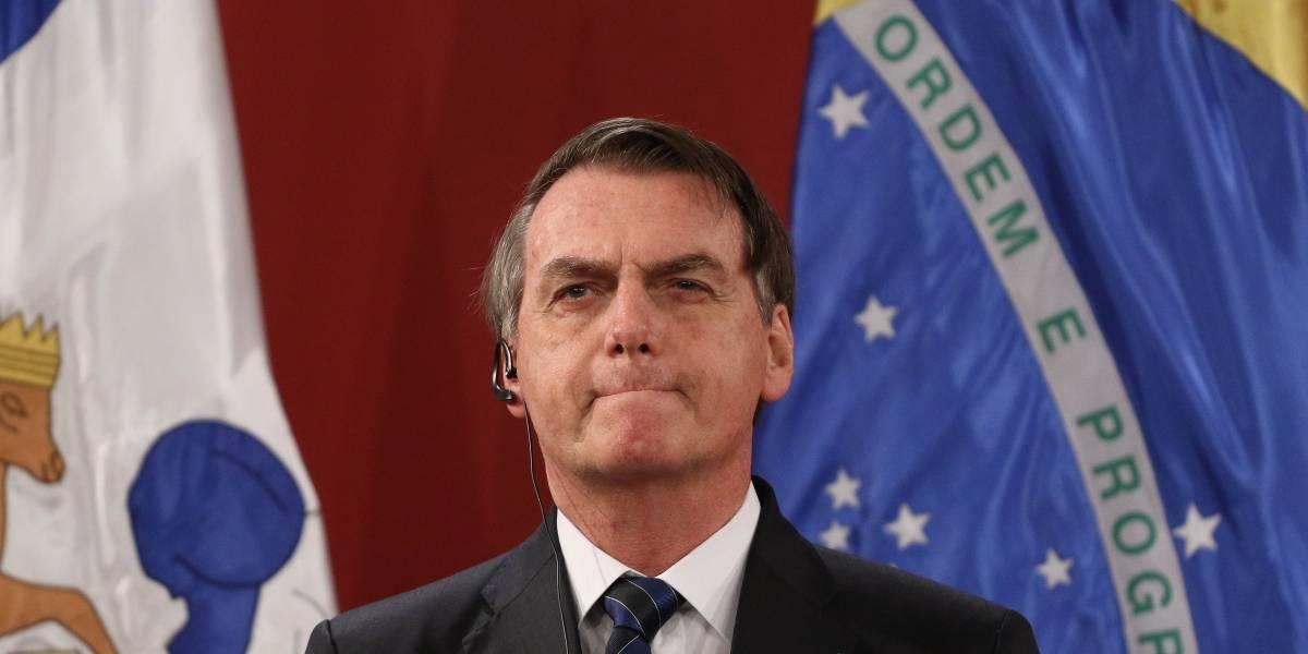 Bolsonaro rechaza ayuda del G7 para combatir incendios en la Amazonía