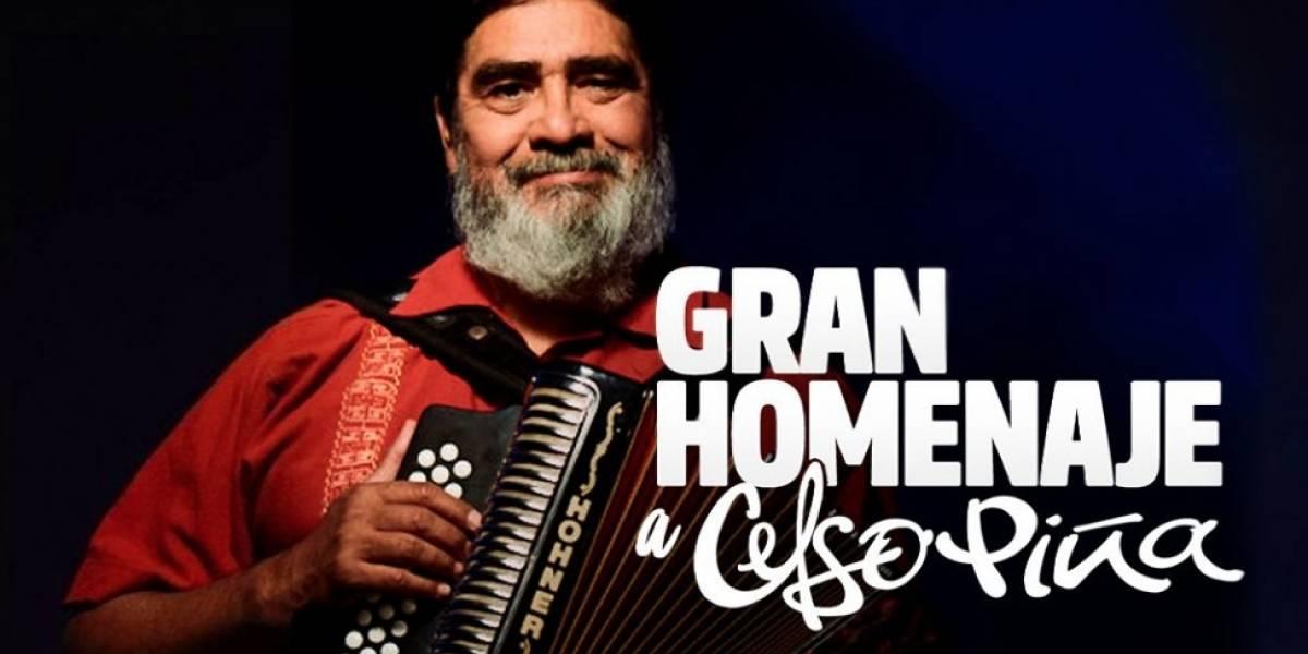 3 horas durará el concierto homenaje a Celso Piña