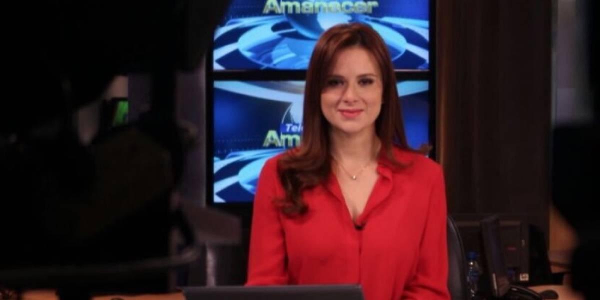 Samantha Mora, presentadora de Ecuavisa, fue víctima de un asalto en el norte de Guayaquil
