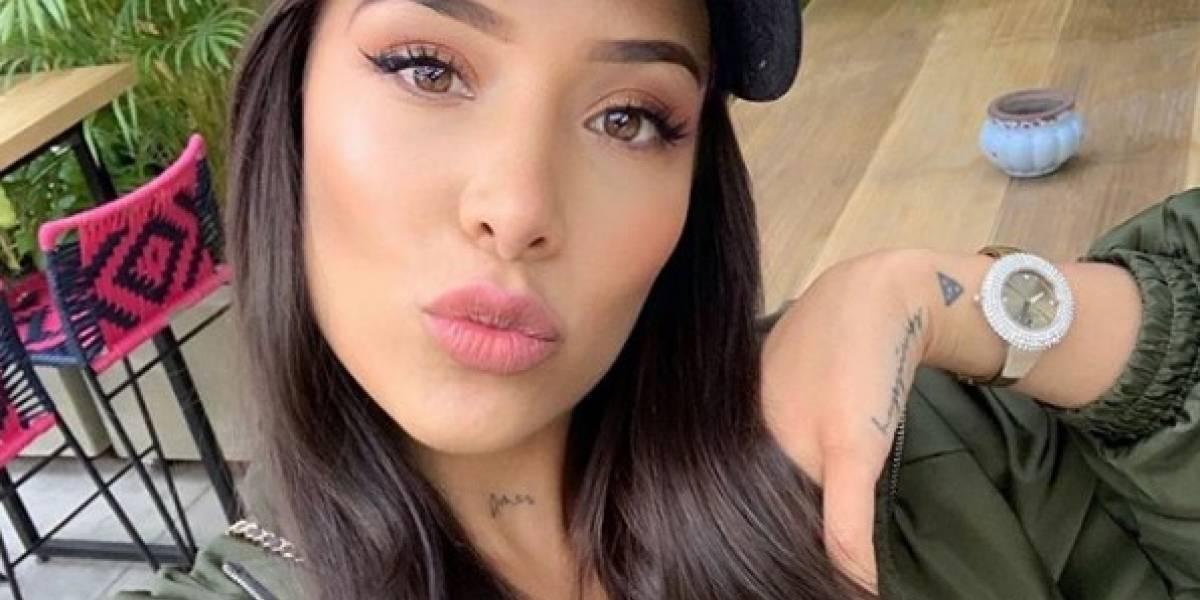 El detalle que Luisa Fernanda W descuidó al posar en traje de baño en República Dominicana