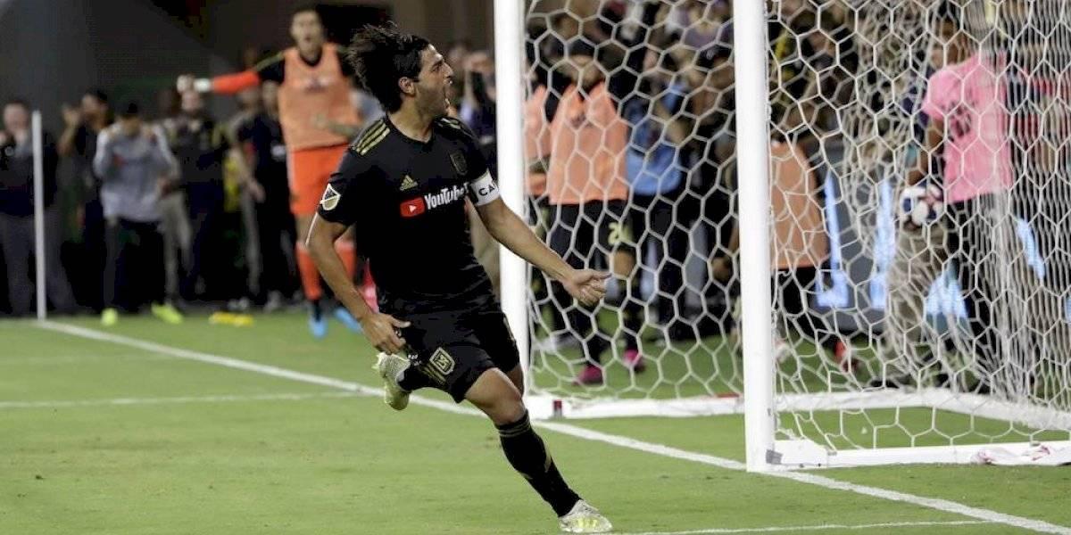 Carlos Vela rompe récord de goles en la MLS