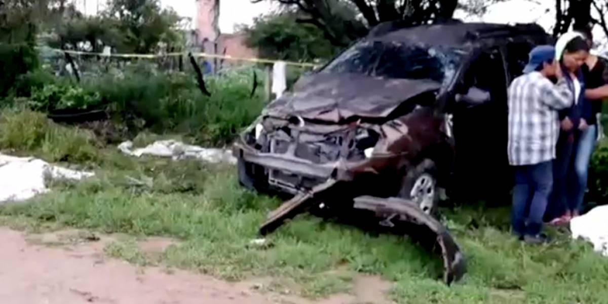 Estudiantes embestidos por camioneta en los Altos de Jalisco; dos muertos y ocho heridos