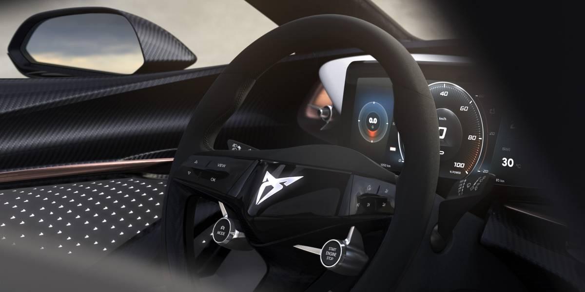Cupra revela teaser del interior de su prototipo totalmente eléctrico