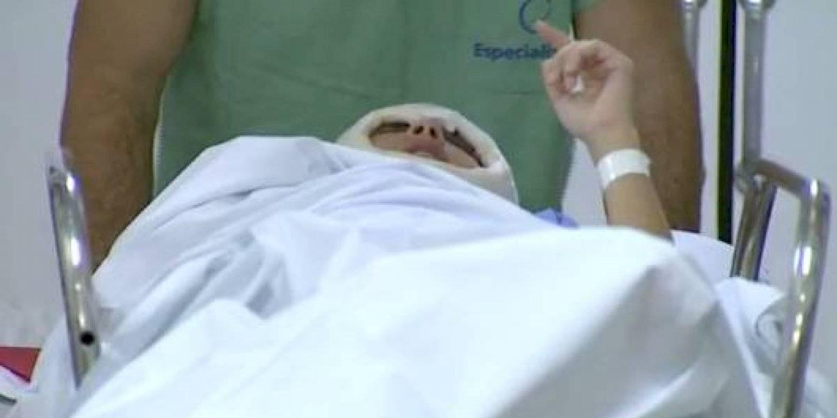 """Se """"desgarró desde el nivel de los ojos hasta la nuca"""": ha sido sometida a 5 cirugías luego perder el cuero cabelludo en un accidente de kart"""