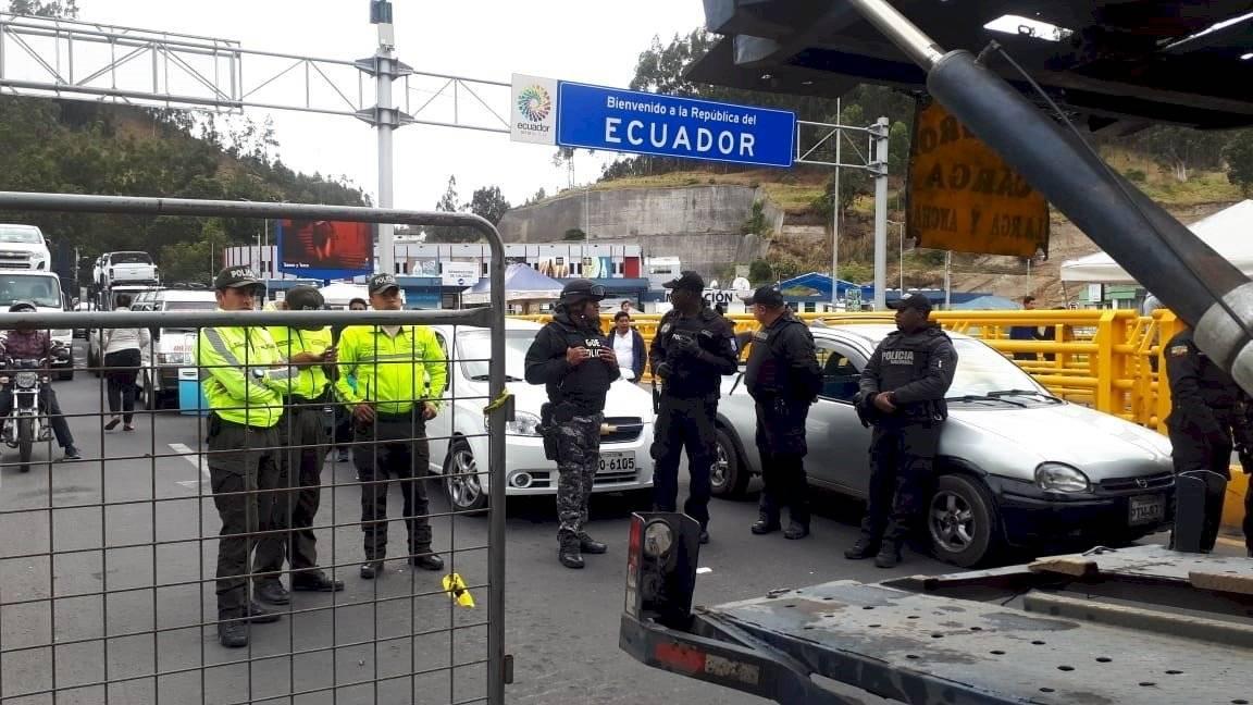 Situación en la frontera con venezolanos EFE
