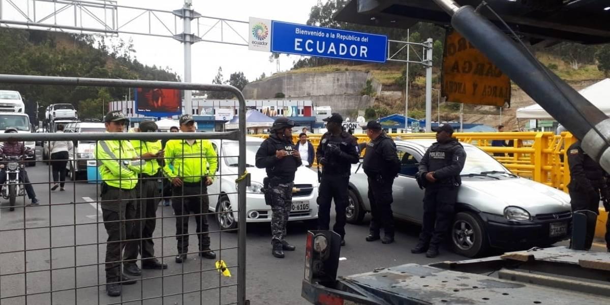Puente Rumichaca: Un ecuatoriano que venía de Venezuela murió en medio de protestas en frontera