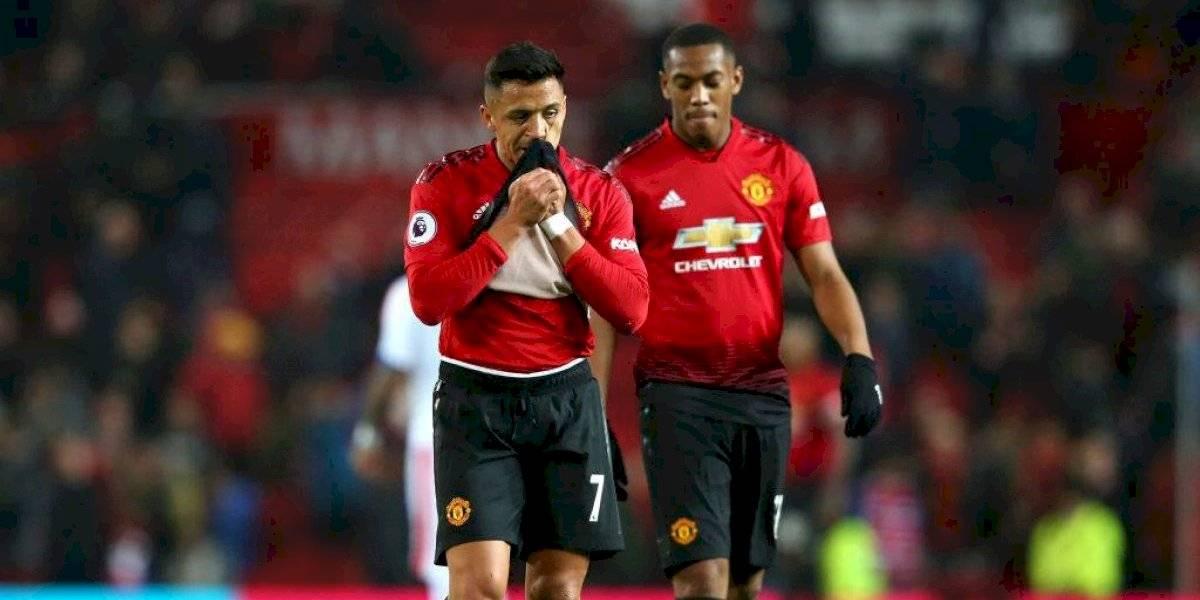 Manchester United esperará los exámenes médicos de Martial para definir la venta de Alexis