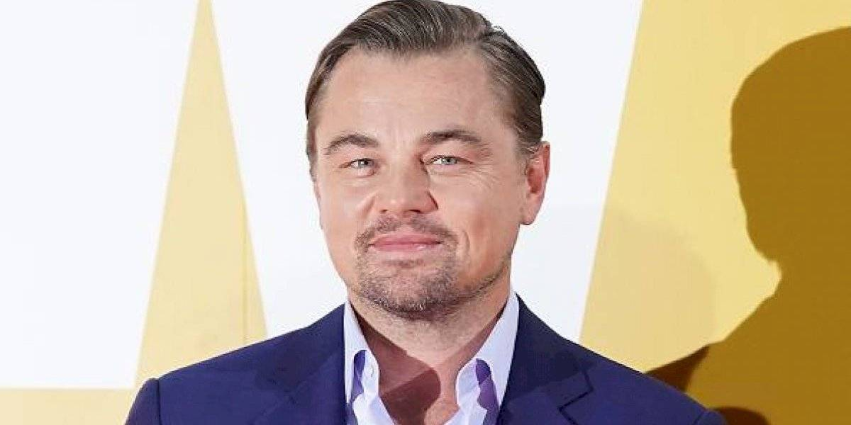 Leonardo DiCaprio luce irreconocible con barba mientras filma junto a Jennifer Lawrence en Boston