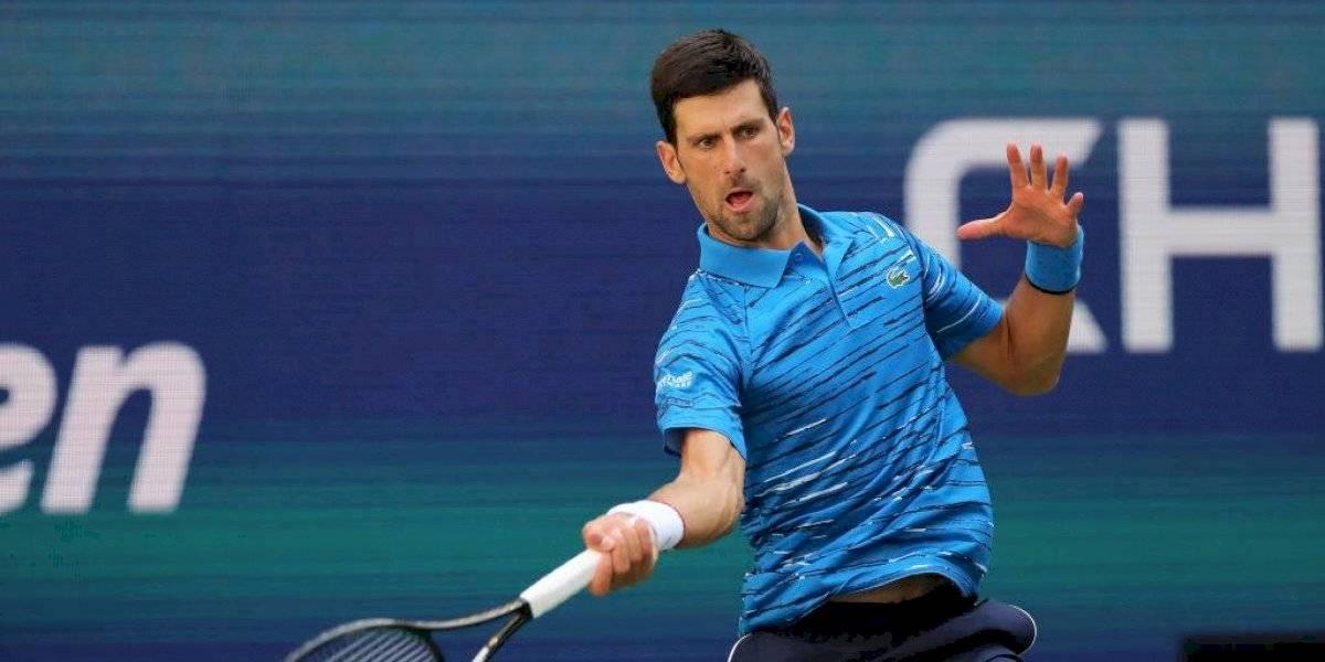 Novak Djokovic derrotó a Roberto Carballés y arrancó con el pie derecho su defensa del título del US Open