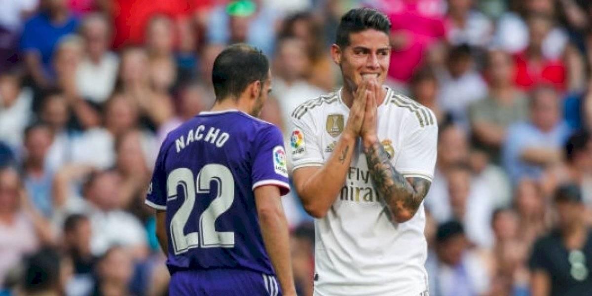 Se nubla el panorama de James Rodíguez con el Real Madrid