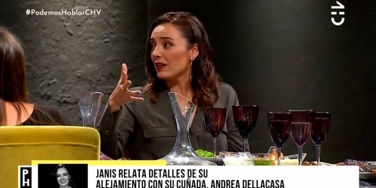 """Janis Pope se refirió al quiebre en su relación con Andrea Dellacasa: """"Me dejó como la mala de la película"""""""