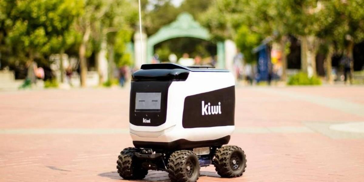Los robots repartidores de la startup Kiwi no son tan autónomos como pensabas