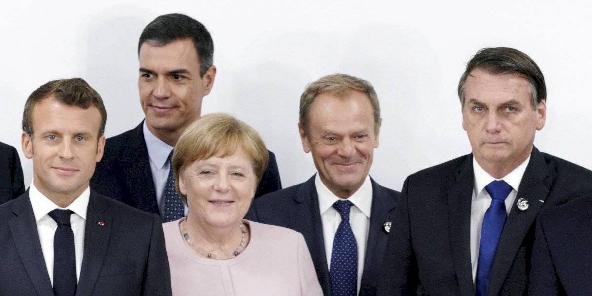Guerra de insultos entre Bolsonaro y Macron: la discusión pasó a la edad de la primera dama francesa