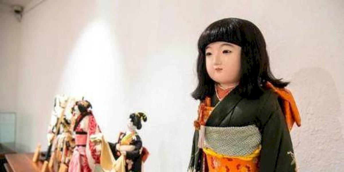 Muñecas ancestrales de Japón en Centro Cultural Banreservas