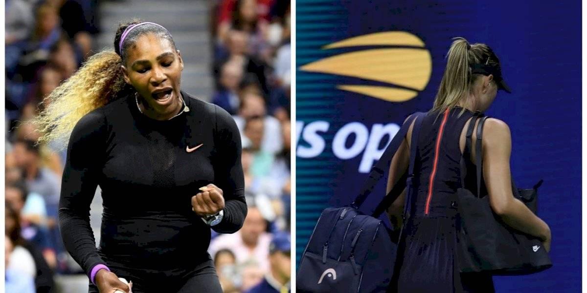 Serena Williams manda a casa a Maria Sharapova tras vencerla en el US Open