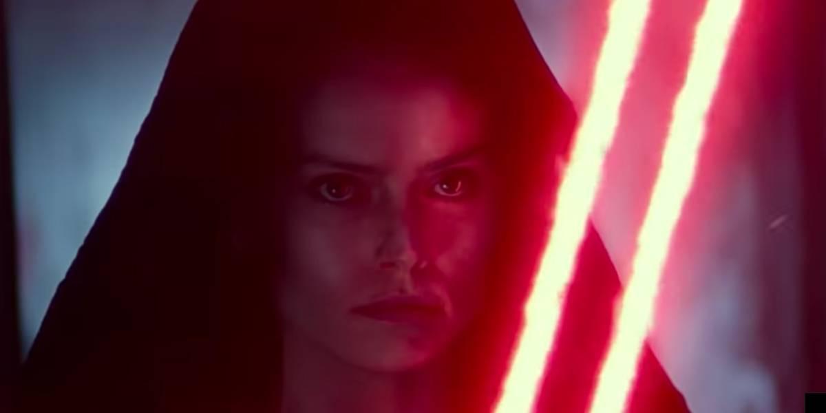'Star Wars: Ascensão Skywalker': Trailer em que Rey segura sabre vermelho intriga fãs