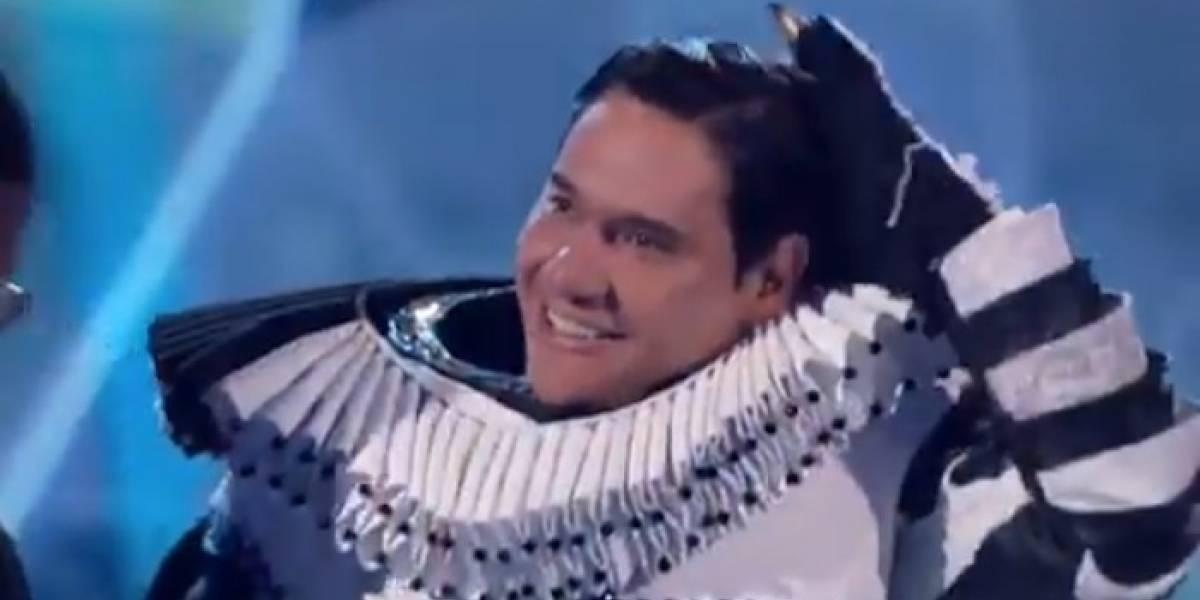Moisés Muñoz tuvo debut y despedida en ¿Quien es la máscara?