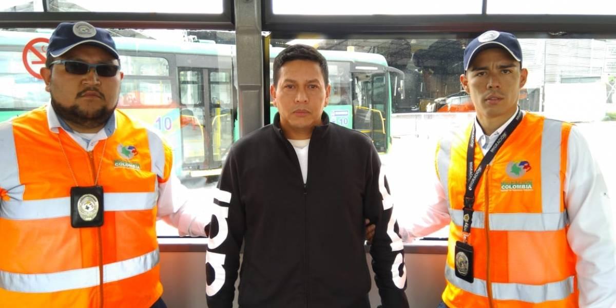 Ya llegó a Colombia alias Fritanga, para pagar dos condenas más