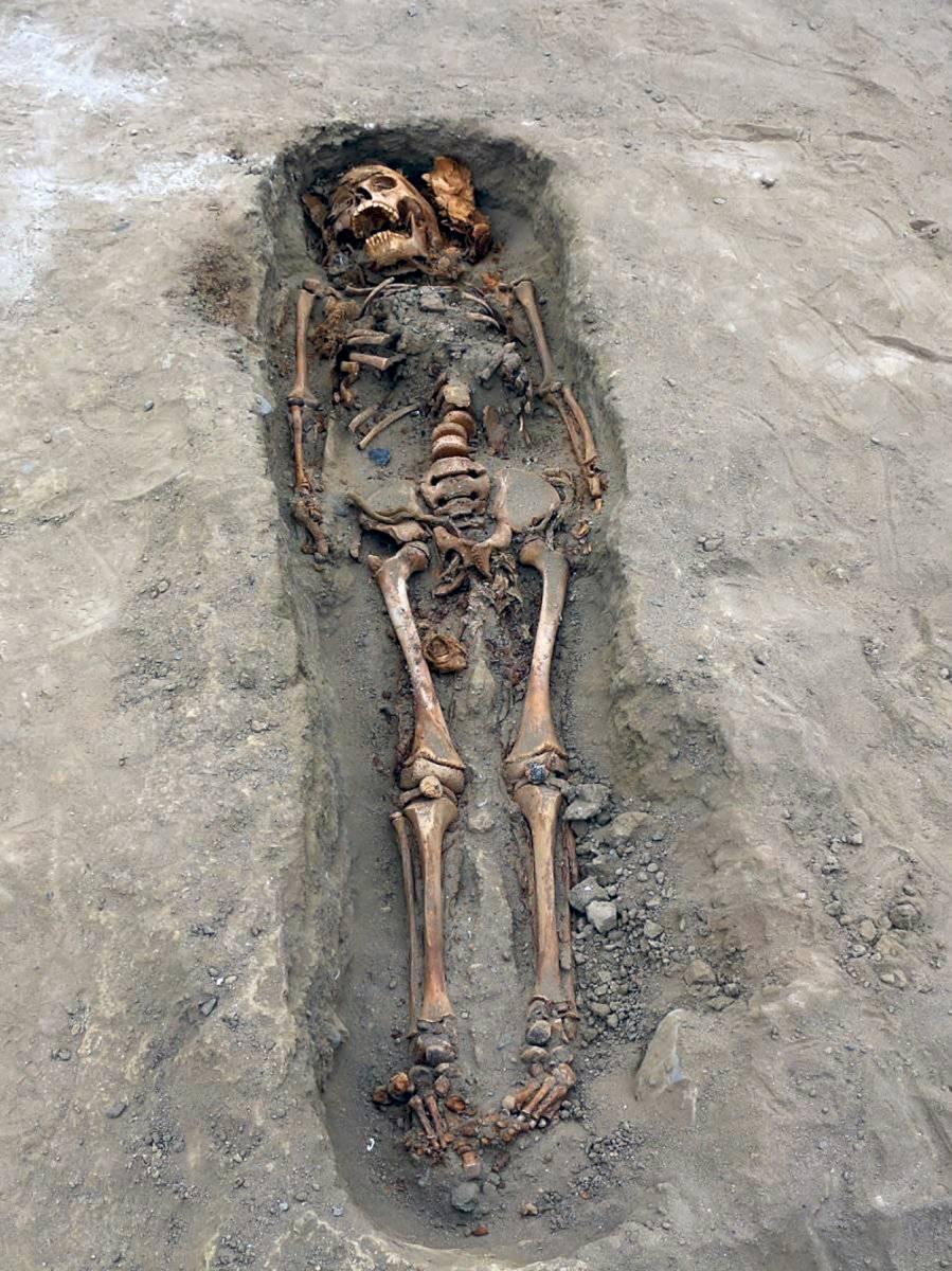 Niños sacrificados Perú