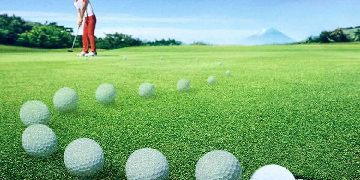 De las calles a los links: crean pelota de golf con conducción asistida
