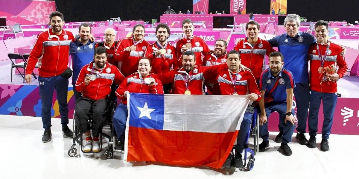 El ParaTeam Chile también hace historia en Lima y ya duplica su mejor cosecha dorada en Juegos Parapanamericanos