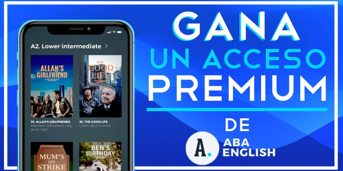 ¡Gana!Un acceso premium de ABA ENGLISH