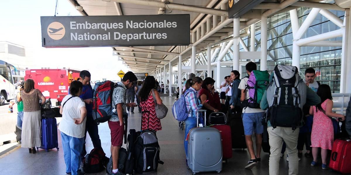 Viajes dentro de Chile por lo alto: van más de 15,6 millones de pasajeros volando en avión hasta julio