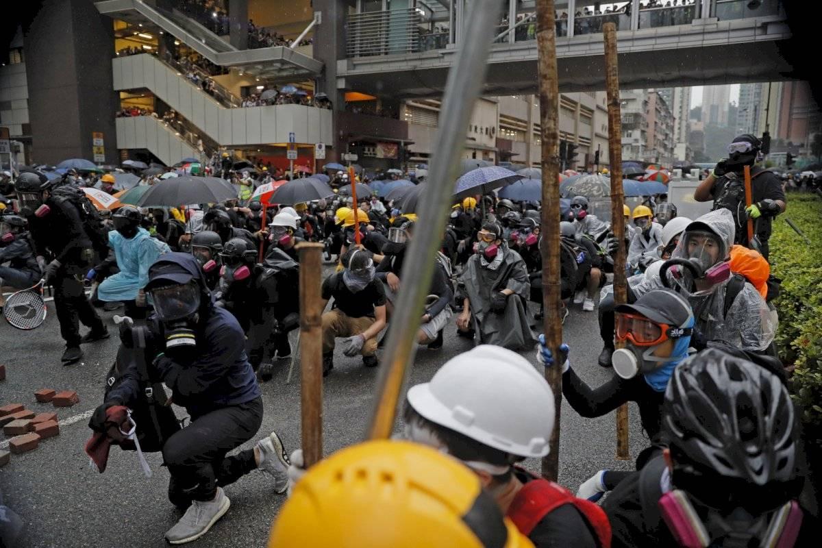 Tensión en Hong Kong en medio de las negociaciones Foto: AP