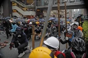 Tensión en Hong Kong en medio de las negociaciones