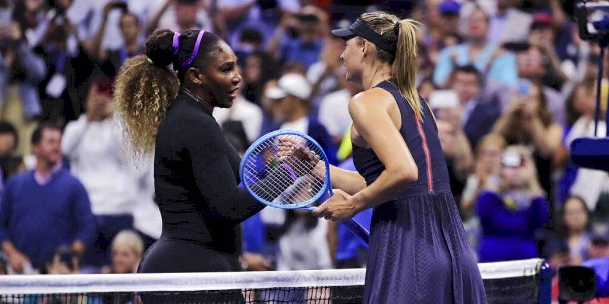 Serena Williams le dio otra lección de tenis a Maria Sharapova en el US Open