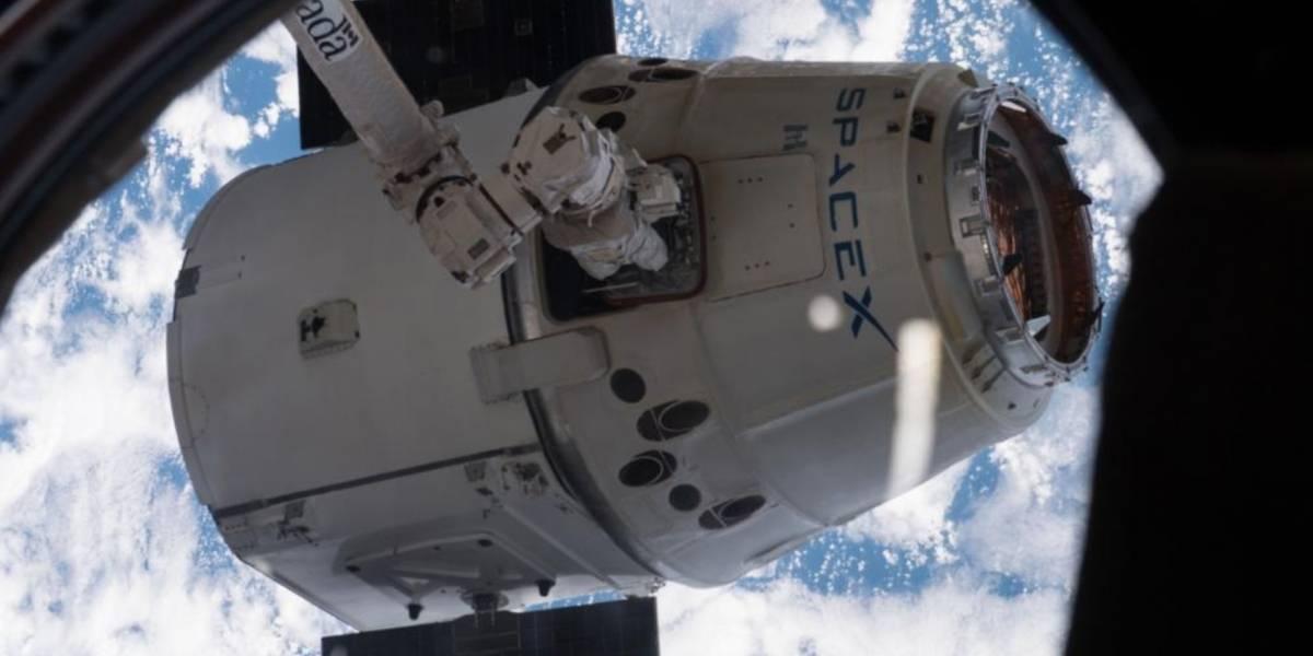 NASA transmite ao vivo retorno à Terra da nave espacial SpaceX Dragon