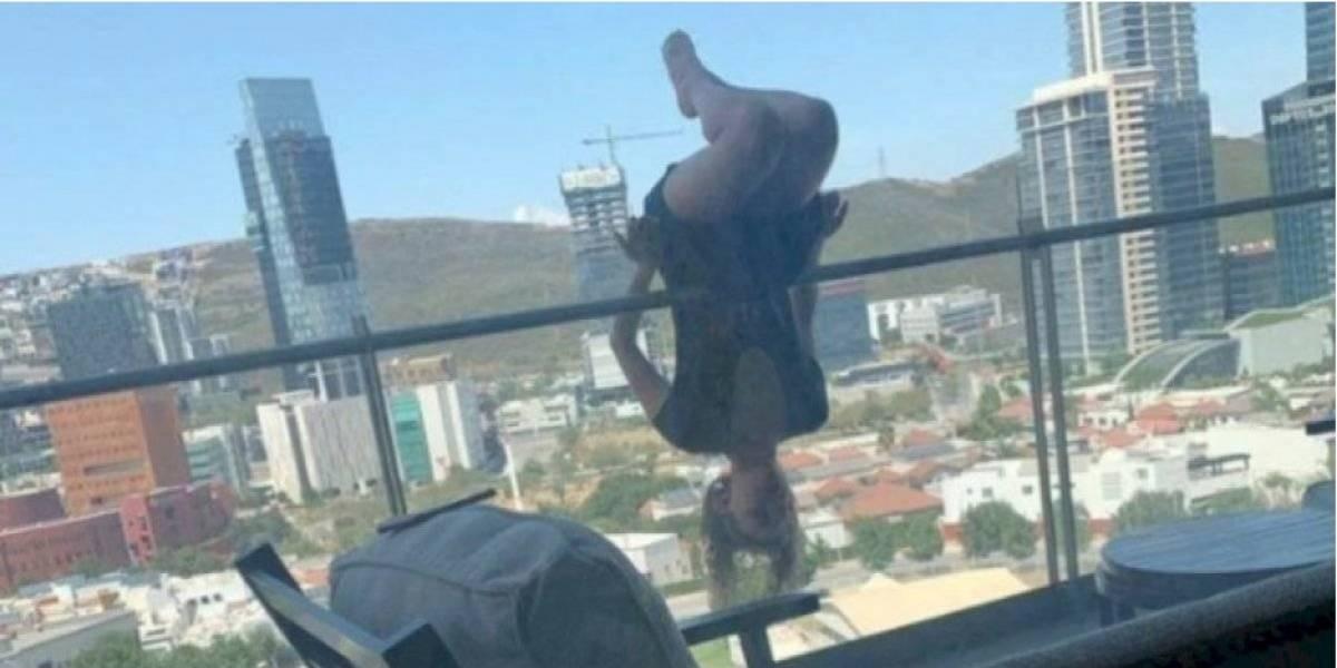 Joven cayó de su balcón mientras practicaba yoga y sufrió más de 100 fracturas