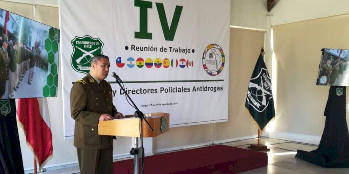 Policías del continente coordinan en Chile estrategias en el combate al narcotráfico
