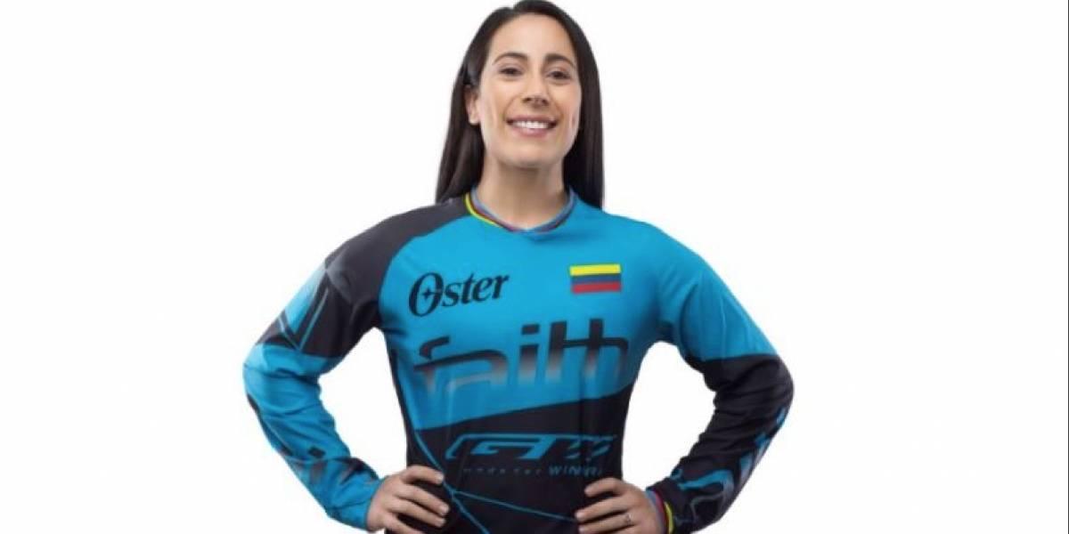 Mariana Pajón, elegida la mejor deportista de América en 2019