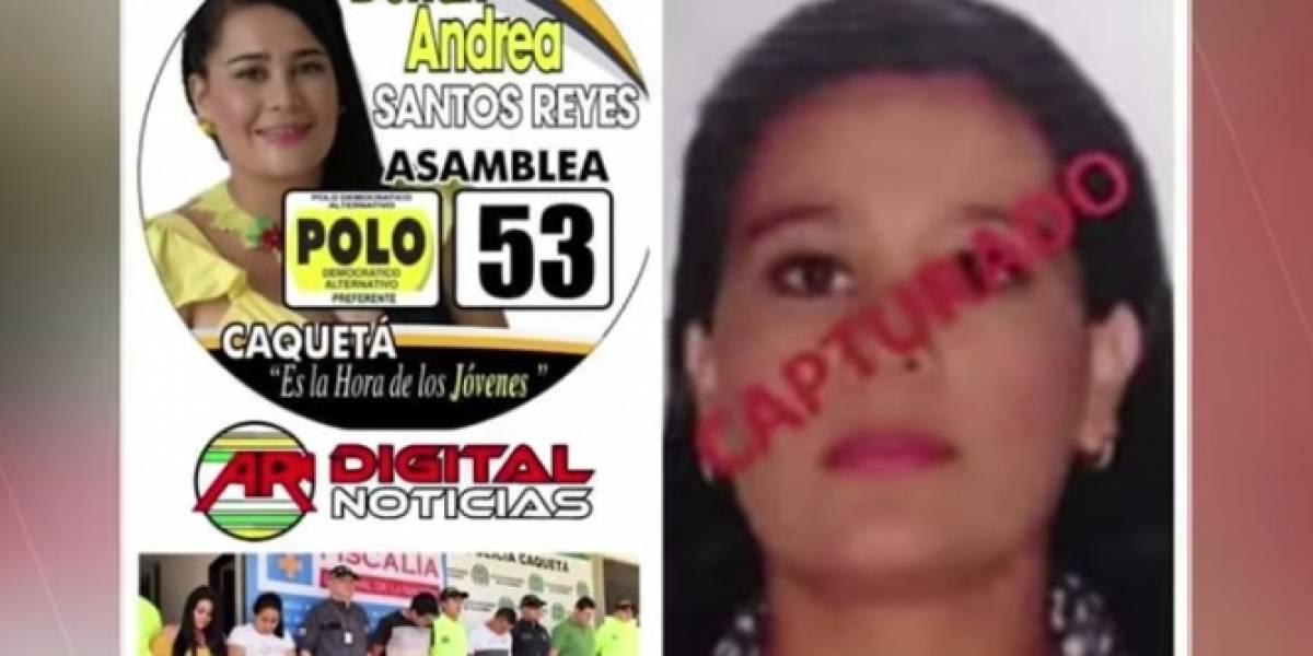 Capturan a candidata del Polo Democrático señalada de pertenecer a una banda delincuencial