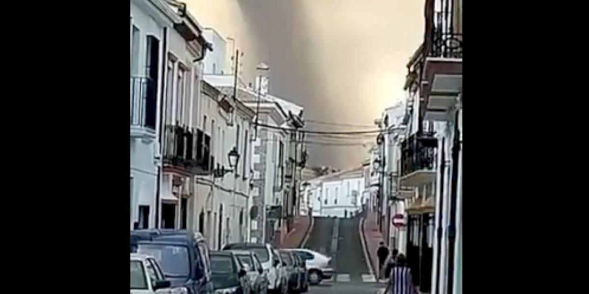 El cambio climático muestra sus garras: tornados y tormentas con granizo paralizaron a España en pleno verano