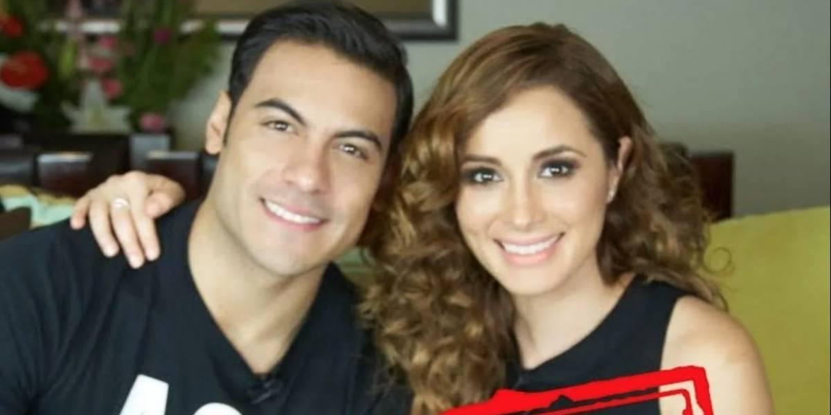 Cynthia Rodríguez revela detalles de su relación con Carlos Rivera