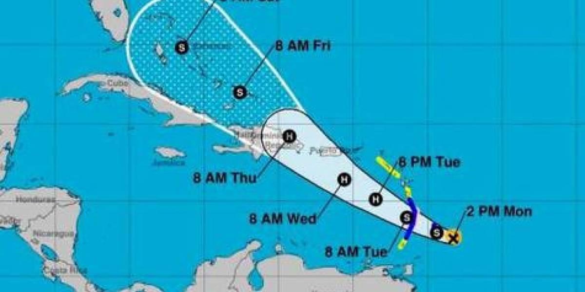 Dorian se acerca como tormenta tropical a RD