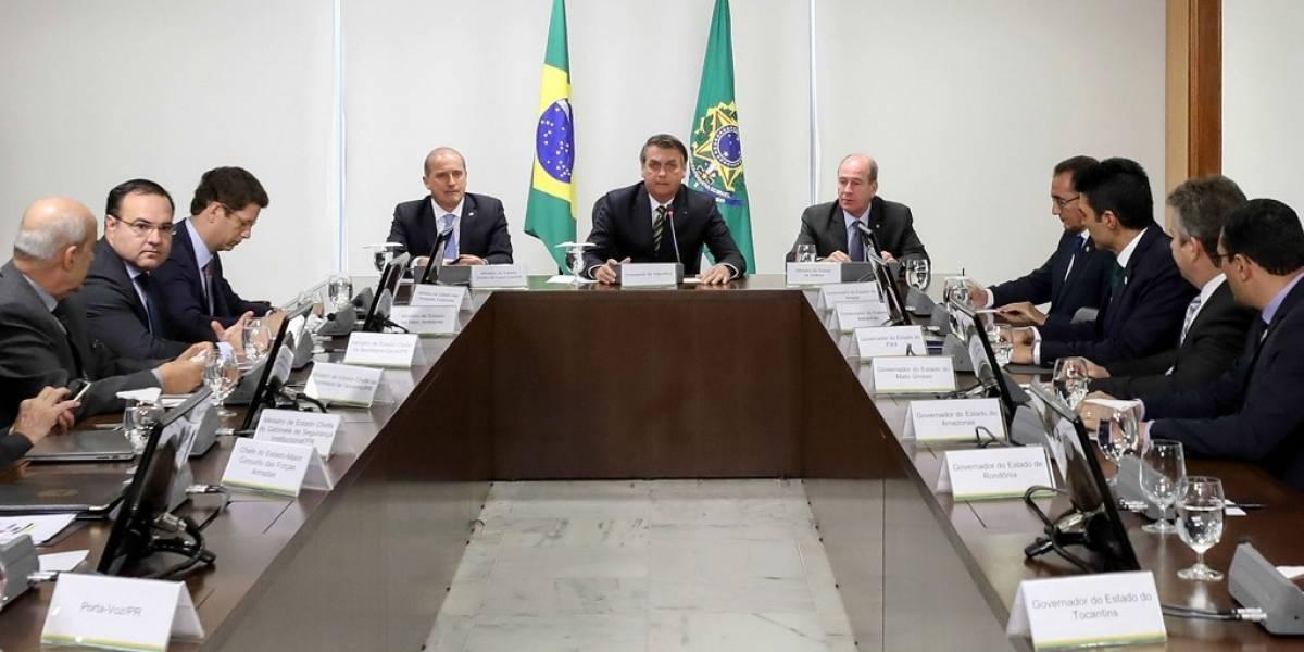 Gobernadores de Brasil, a favor de ayuda del G7 para combatir incendios en la Amazonía