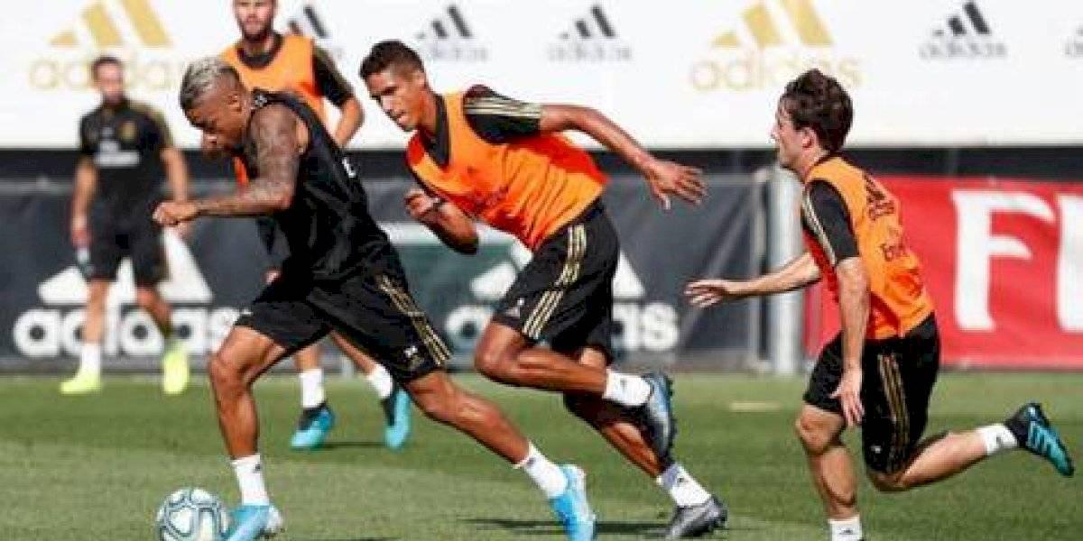 Regresa a los entrenamientos del Real Madrid antes de Villarreal