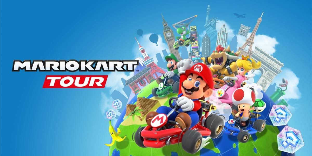 Mario Kart Tour chega para smartphones no dia 25 de setembro