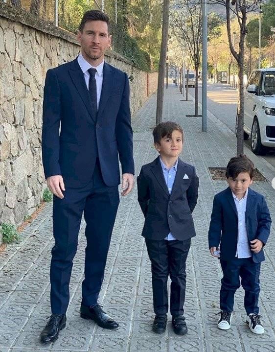 Revelan apodo de Mateo intimidad familia Messi
