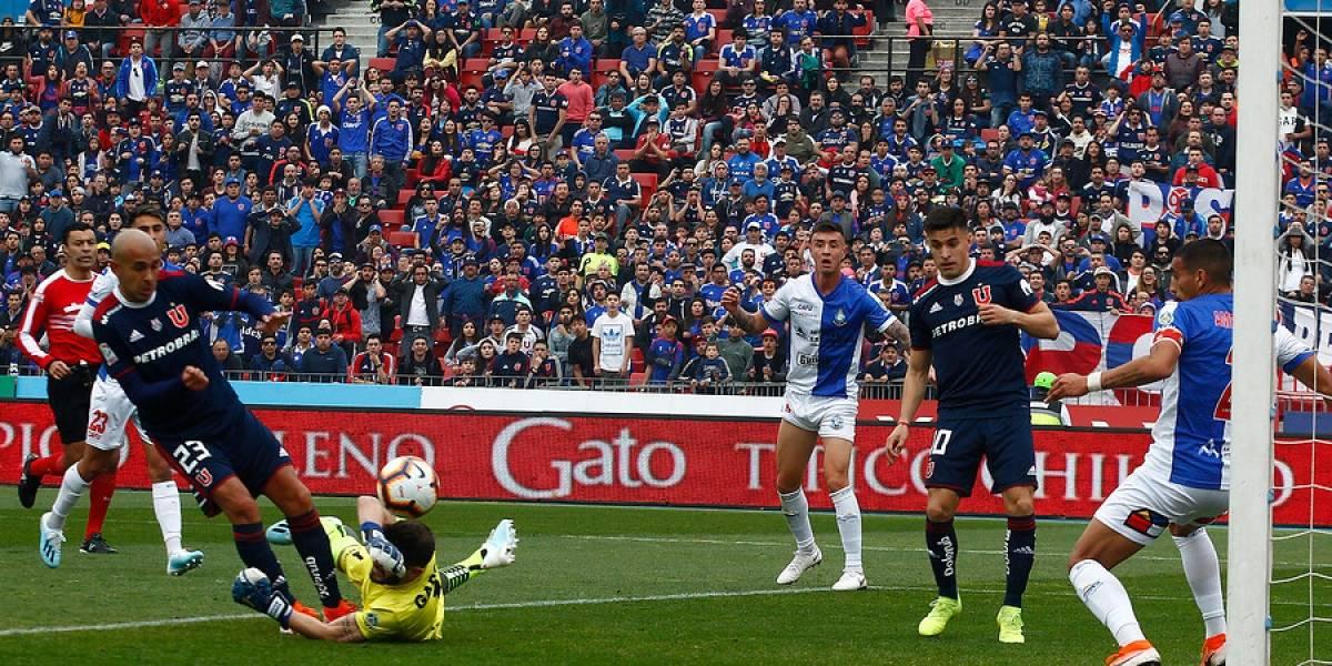 La U fue castigada por la ANFP por faltar al fair play ante Antofagasta