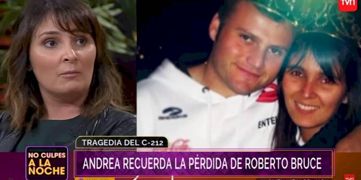 A casi ocho años de la tragedia: viuda de Roberto Bruce recordó al fallecido periodista con emotivas palabras