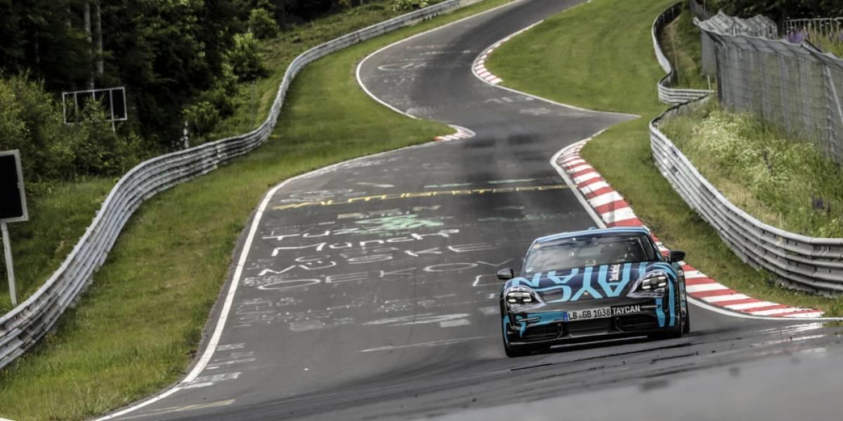 El Porsche Taycan suma récords: establece la marca para Nürburgring-Nordschleife
