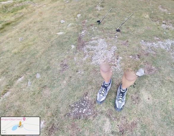 Google Maps piernas