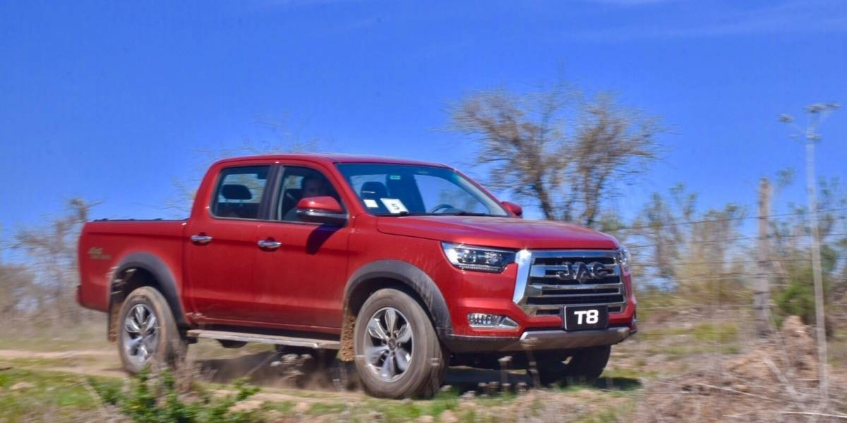 La nueva camioneta T8, la full size de JAC, tiene preventa online