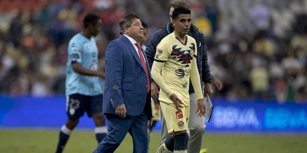 Miguel Herrera 'amenaza' a sus jugadores