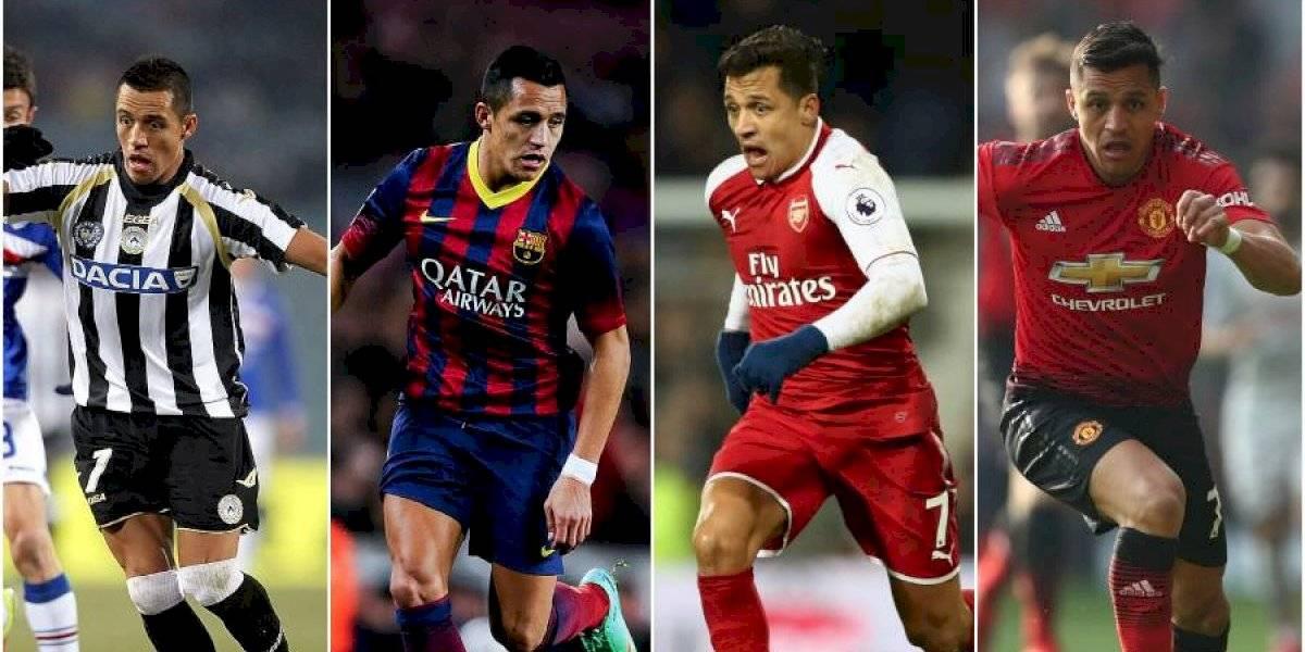 La ruta goleadora de Alexis Sánchez por América y Europa vuelve a sumar un nuevo club
